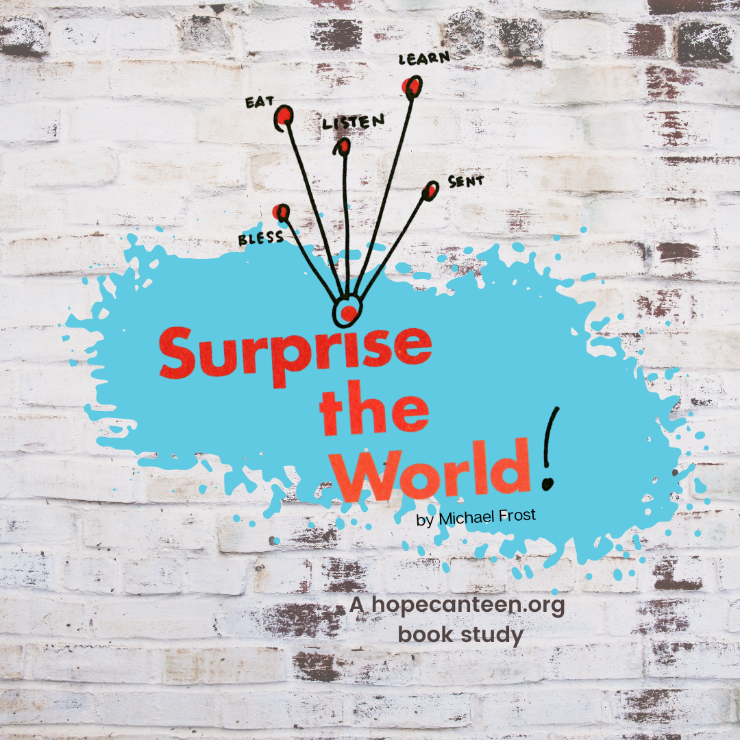 Surprise the World book study