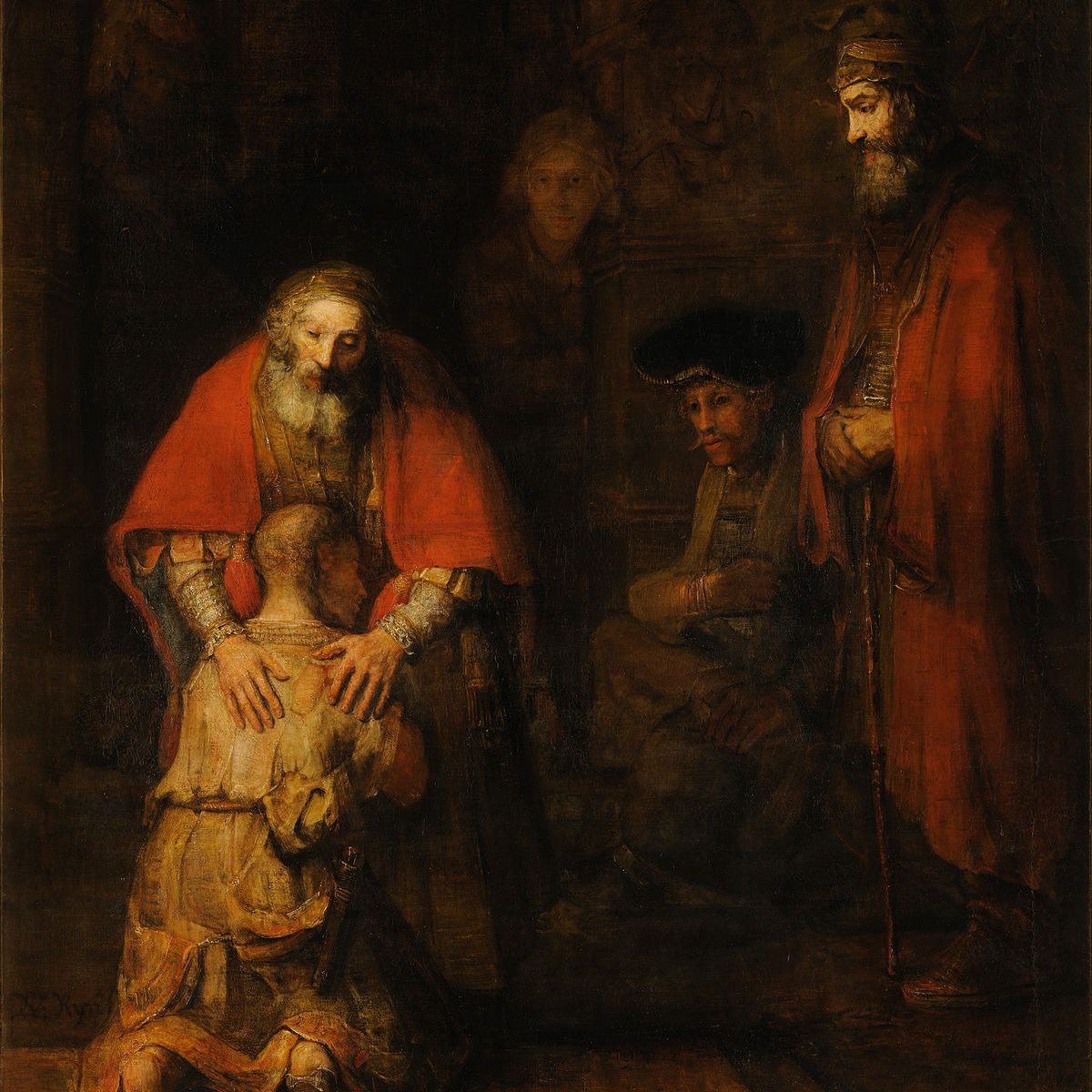 Atonement: the Return of the Prodigal Son (Rembrandt)