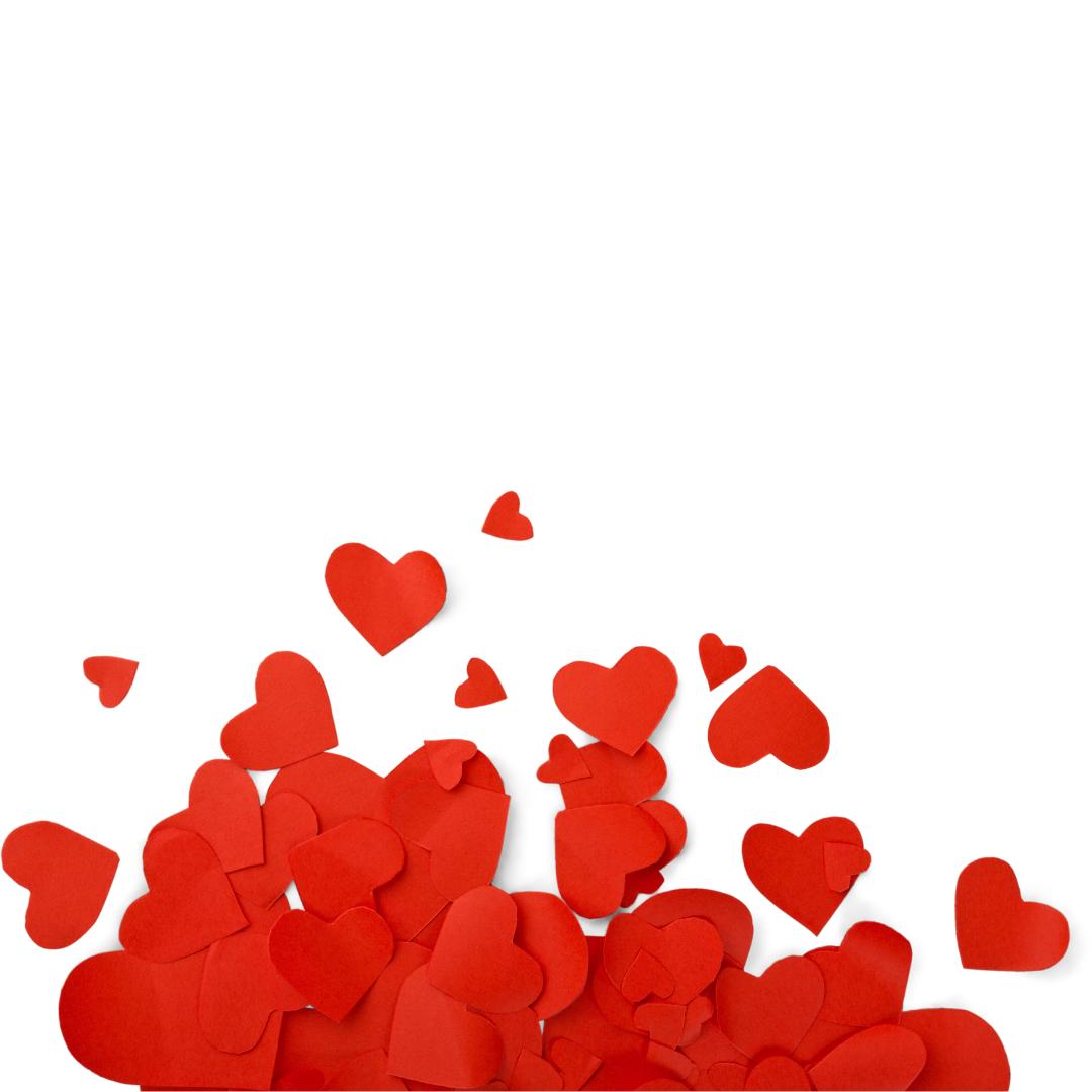 Jesus shows us love