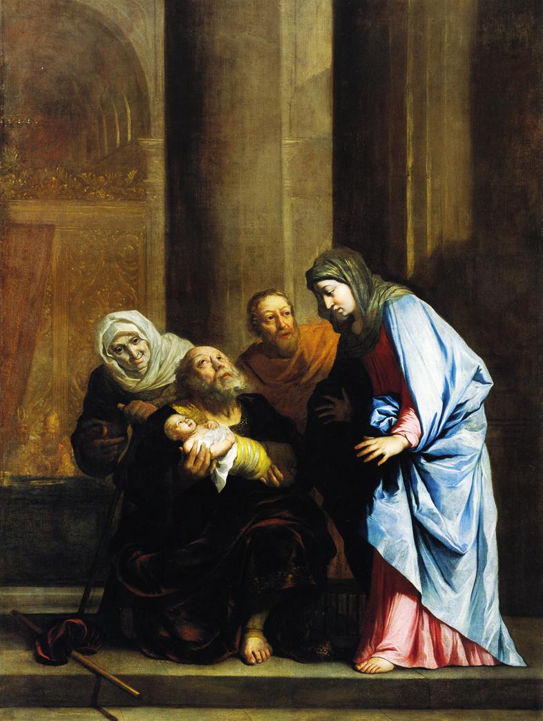 Simeon with the Infant Jesus (Benjamin West, c. 1796)